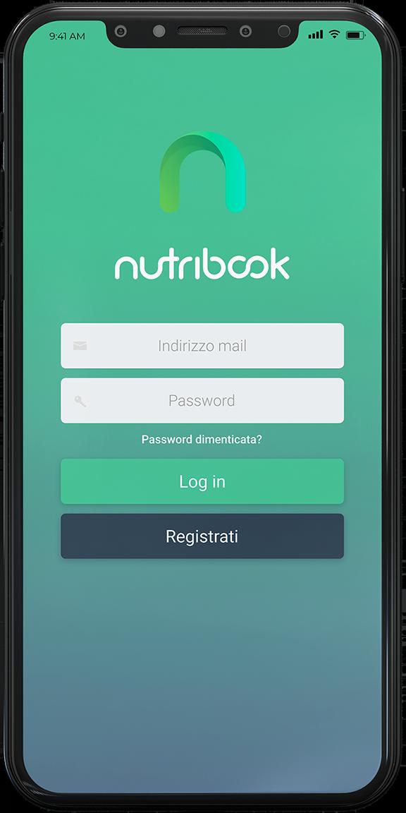 Login-Nutribook-Mobile