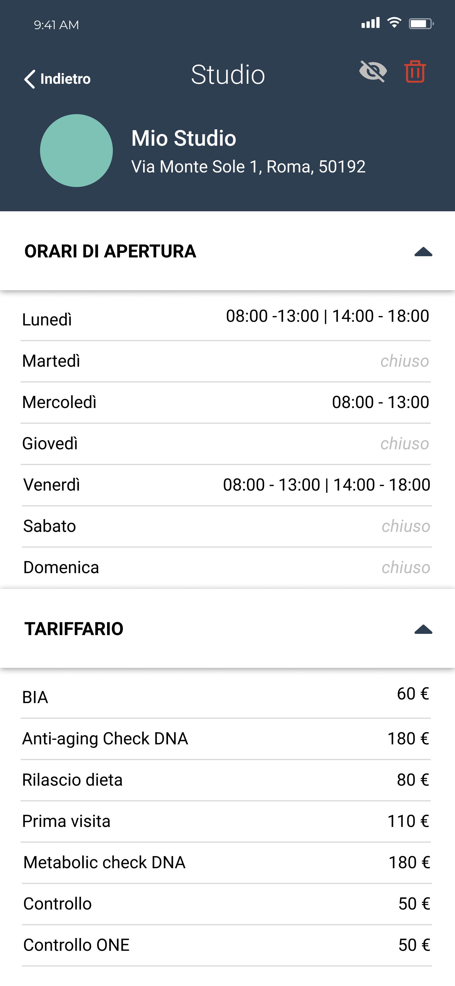 Multistudio mobile Nutribook